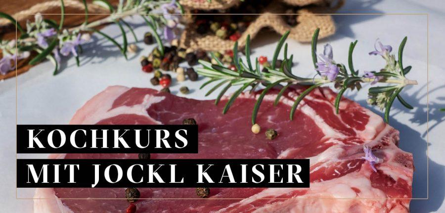 Kalbsfleisch für Kochkurs mit Jockl Kaiser