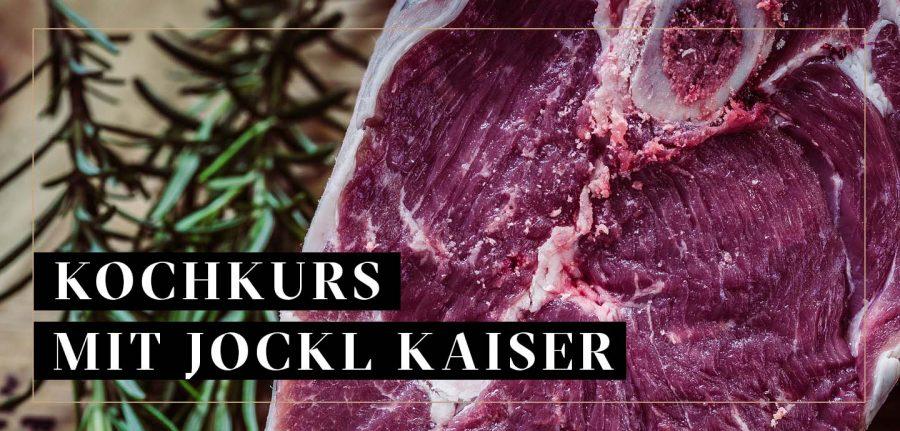 Black Angus Prime Fleischstück für Jockl Kaiser Kochkurs