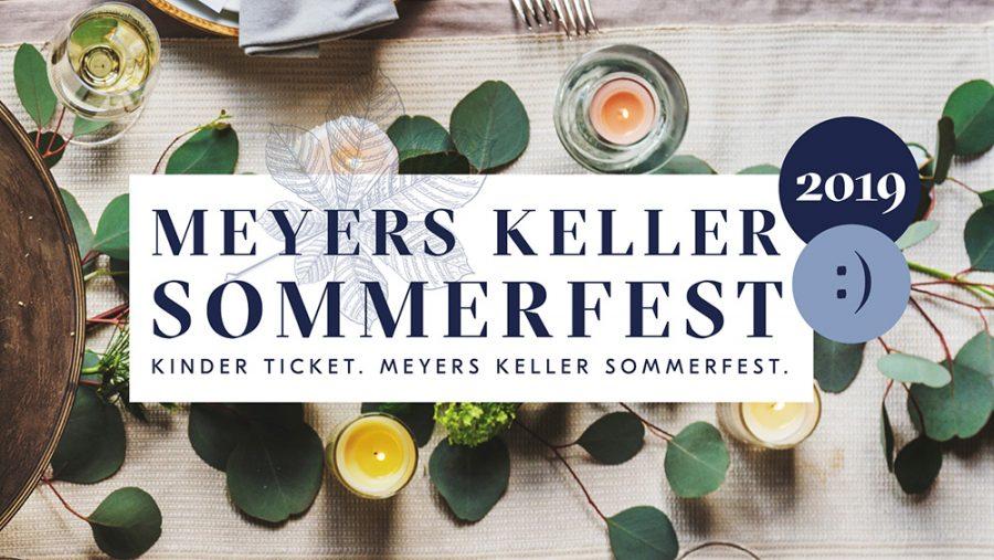 Kinderticket Jcokl Kaiser Meyers Keller Sommerfest