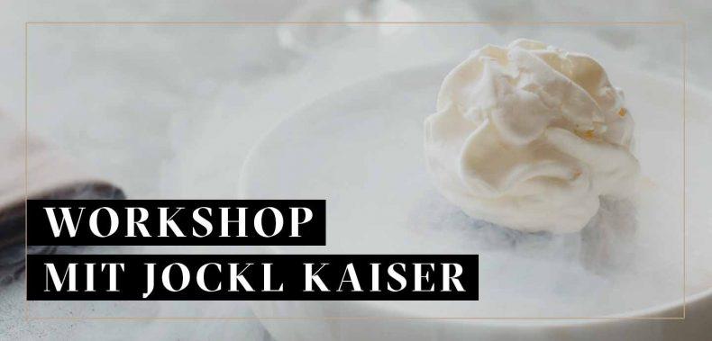 weißes Dessert Jockl Kaiser Meyers Keller
