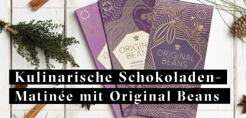 Grafik mit ORiginal Beans Schokoladentafeln | für Kulinarische Schonko-Matinee Jockl Kaiser
