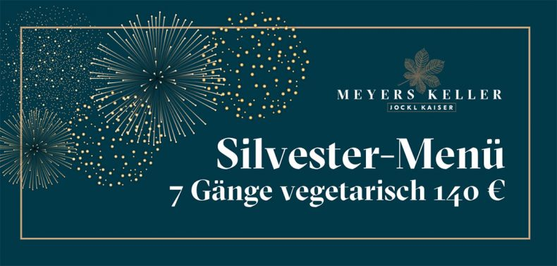 Tickets (Grafik) vegetarisches Silvester-Menü Jockl Kaiser