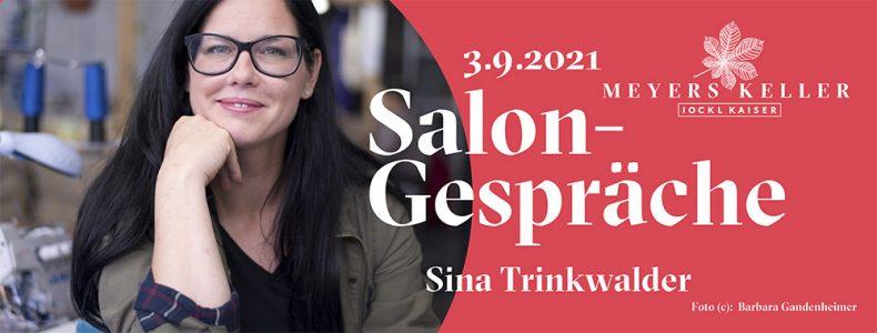 Ticket zu Salongesprächen mit Portrait Sina Trinkwalder
