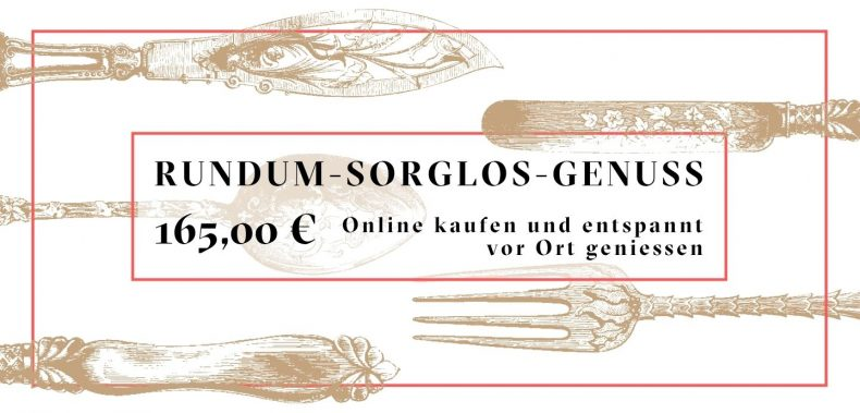 Rundum-sorglos-Genuss Menü Gutschein Jockl Kaiser