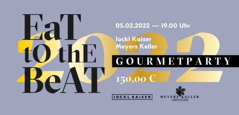 eat to the beat gourmetparty ticket